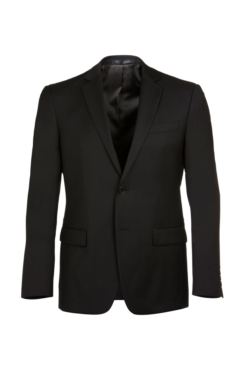 Michel Black Wool Suit Jacket
