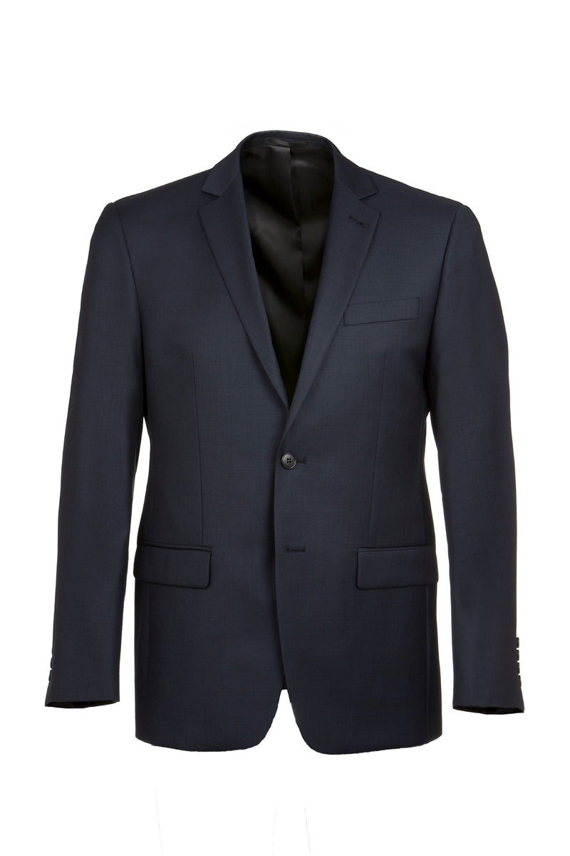 Michel Blue Wool Jacket