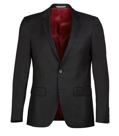 Daniel Hechter Shape Black Wool Jacket