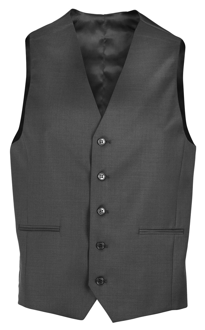 Daniel Hechter Ryan Grey Wool Vest
