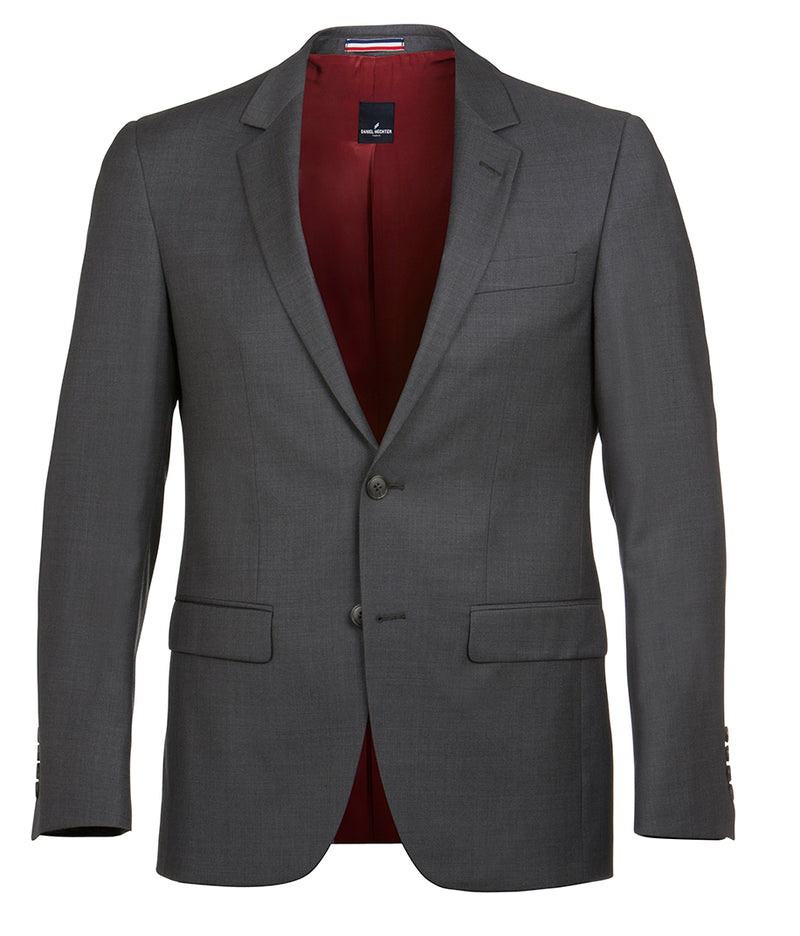 Daniel Hechter Shape Grey Wool Jacket