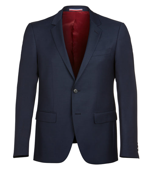 Shape Navy Wool Jacket