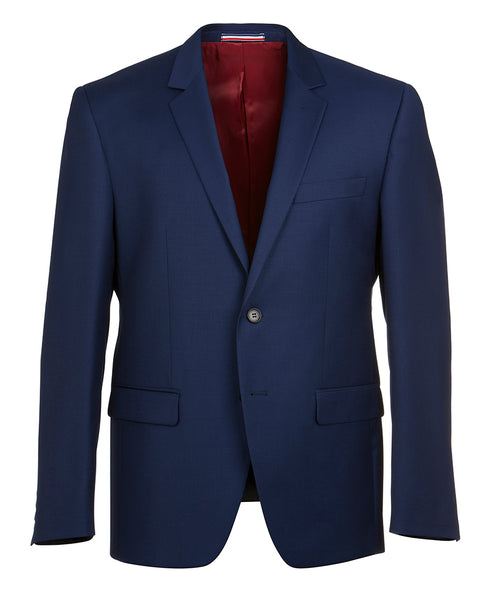 Shape Blue Wool Jacket