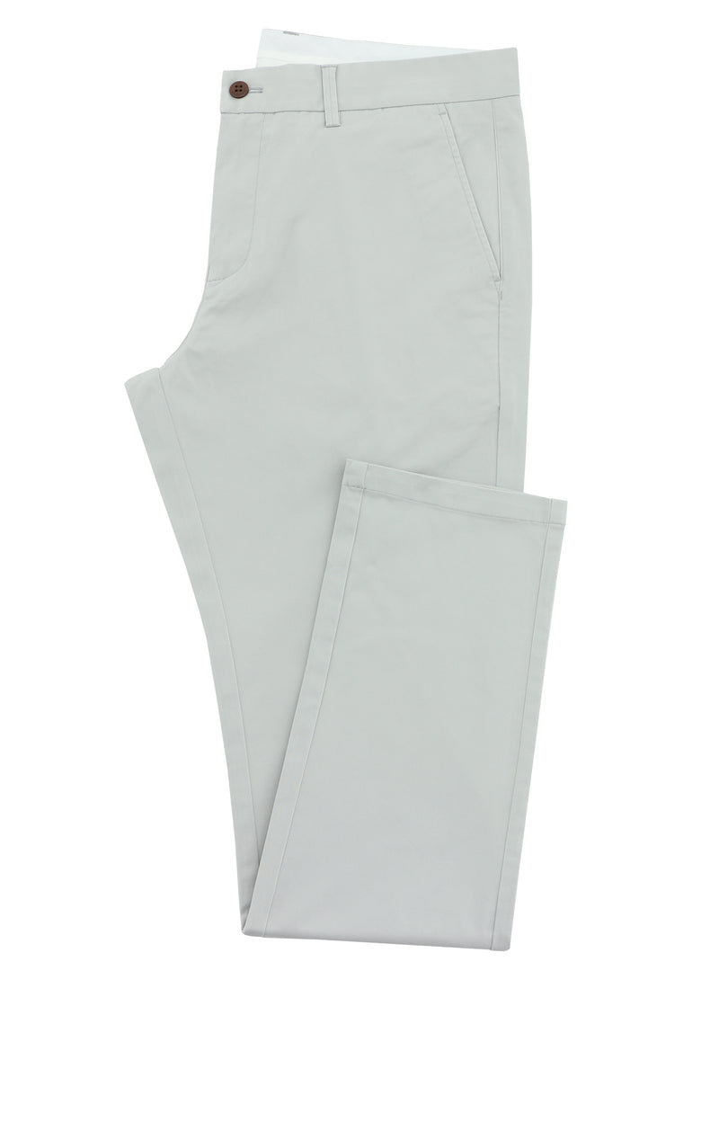 Daniel Hechter Light Grey Slim Chino