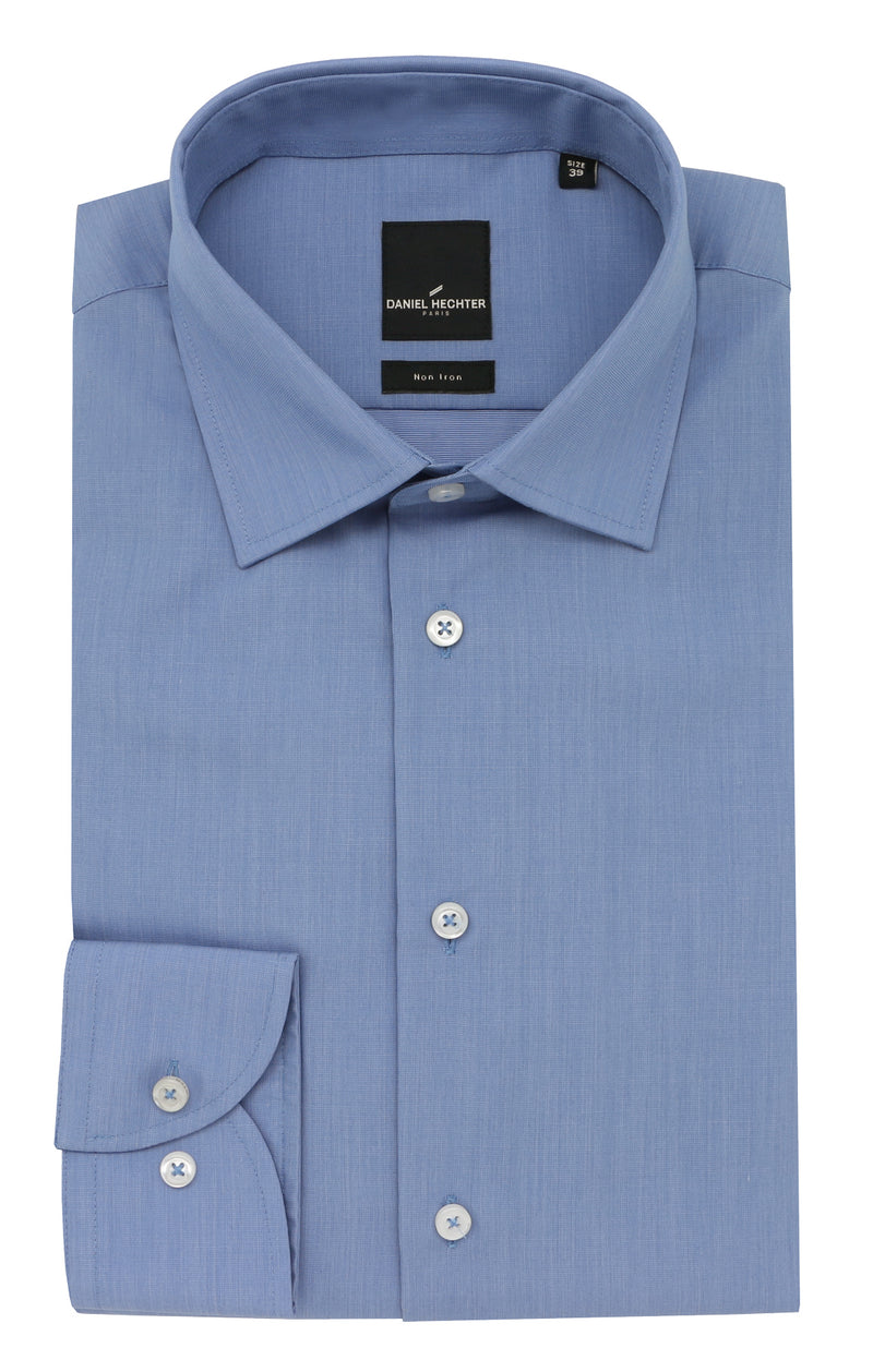 Daniel Hechter Shape Business Blue Shirt