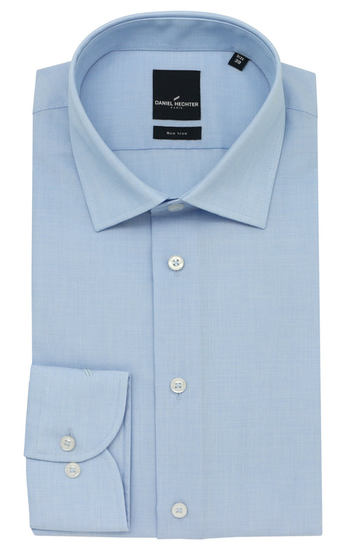 Daniel Hechter Shape Business Light Blue Shirt
