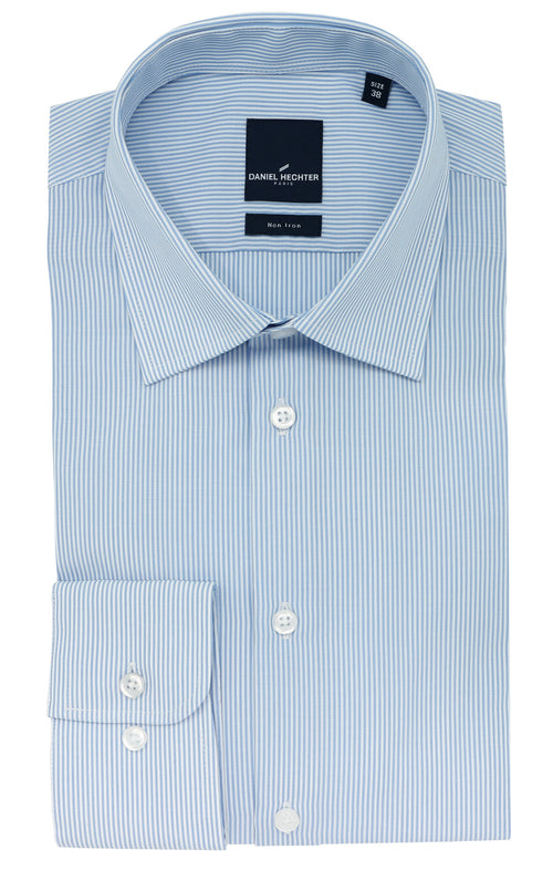 Shape Business Blue Stripe Shirt