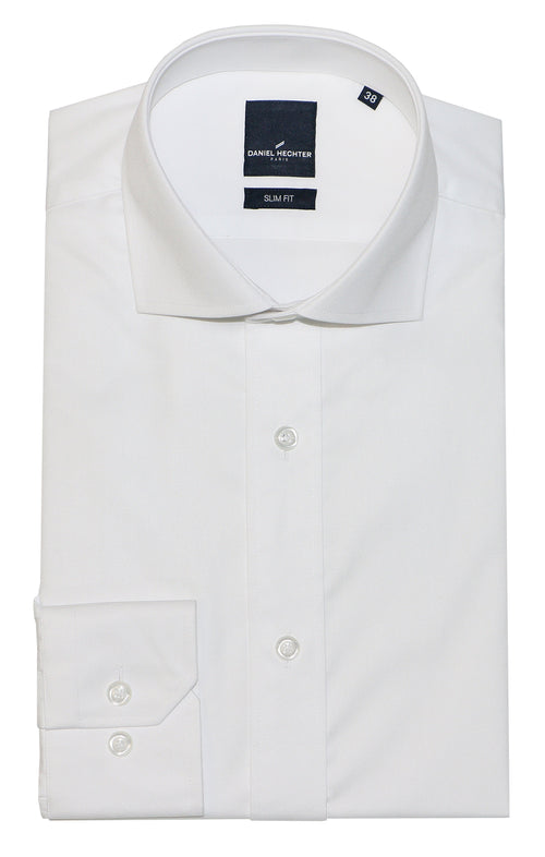 Daniel Hechter Jacque White Cotton Shirt