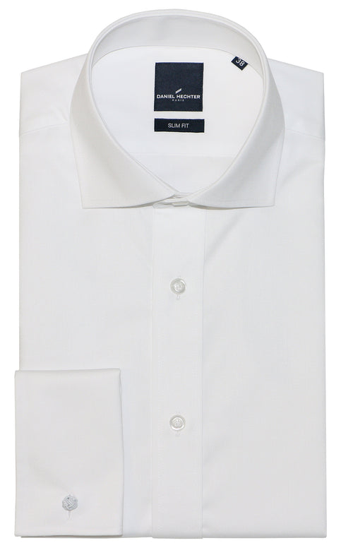 Daniel Hechter Jacque French White Cotton Shirt