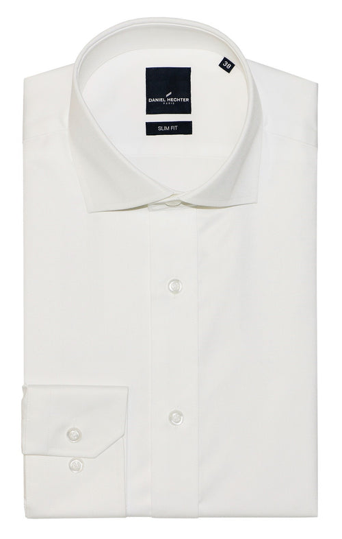Daniel Hechter Jacque Cream Cotton Shirt