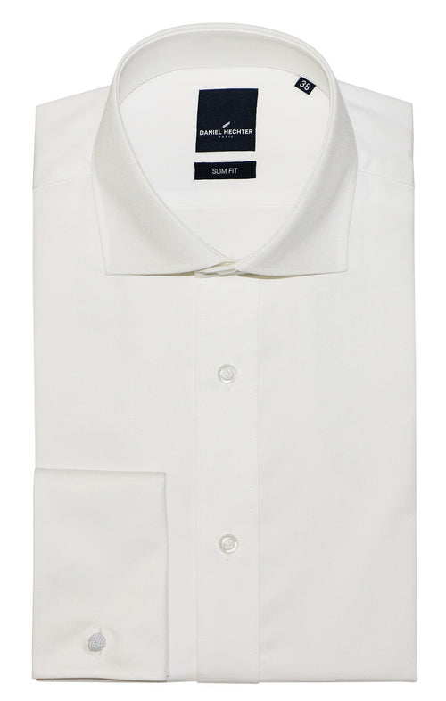 Daniel Hechter Jacque French Cream Cotton Shirt