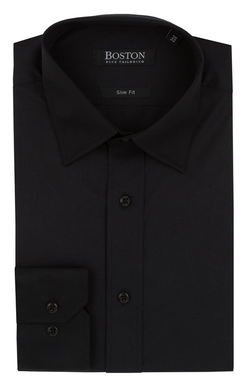 Boston Black 5WT Liberty Business Shirt
