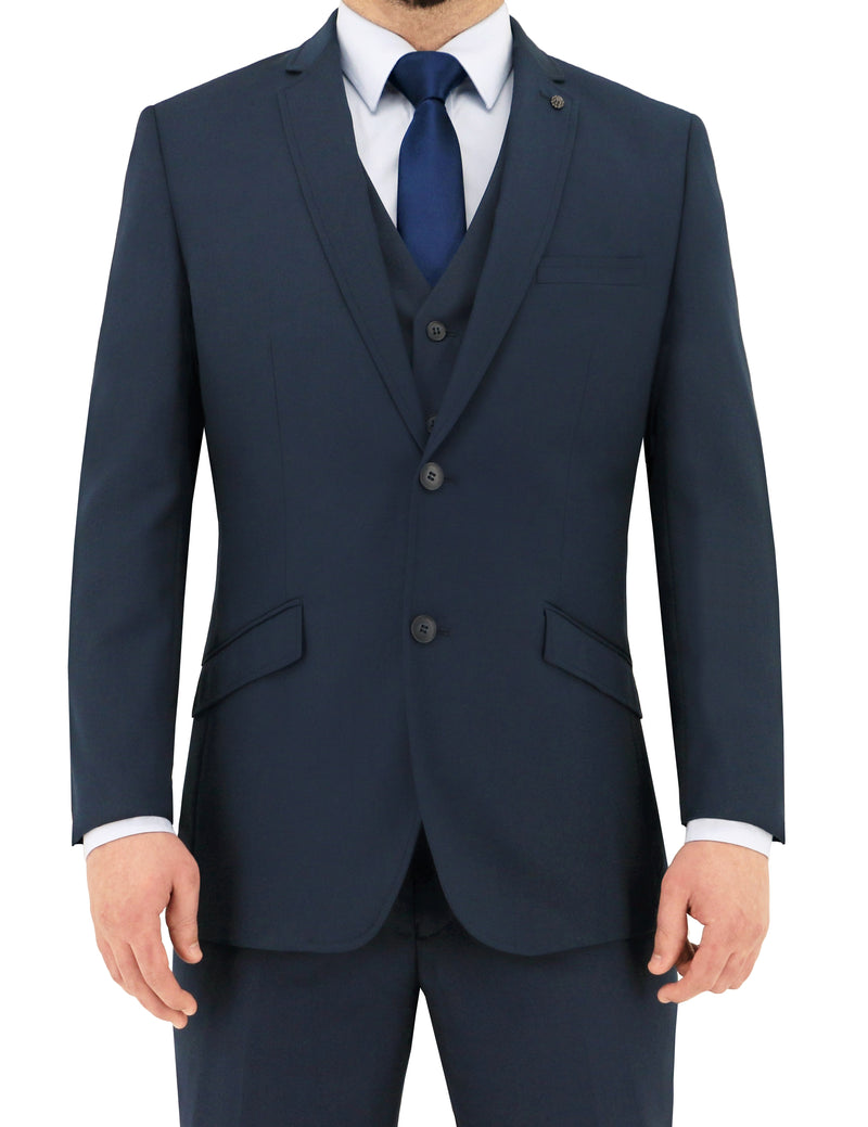 Christian Brookes Bond Blue PV Suit Jacket