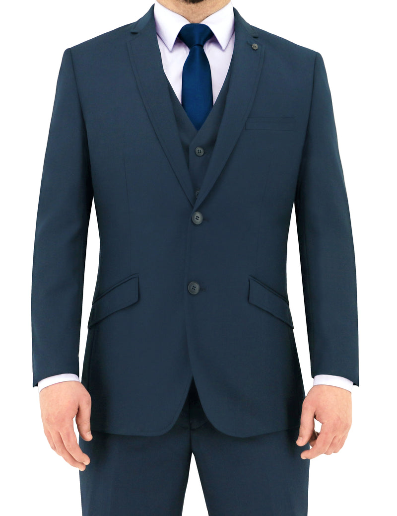 Christian Brookes Bond Bright Blue PV Suit Jacket
