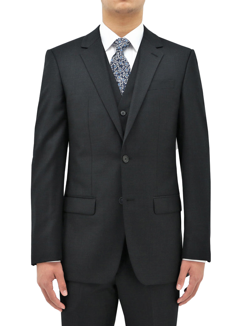 Michel Charcoal 106 Wool Suit Jacket