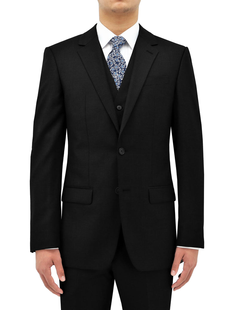 Shape 106 Black Wool Suit Jacket