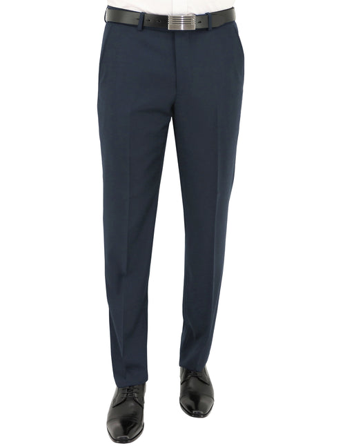 Edward 106 Navy Wool Trouser