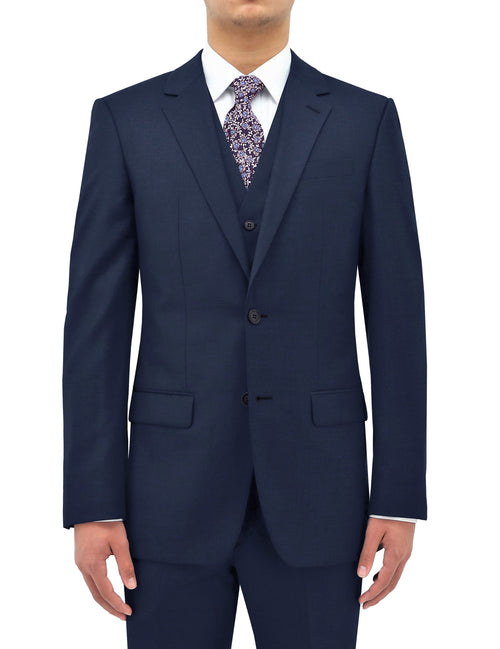 Shape 106 Blue Wool Suit Jacket