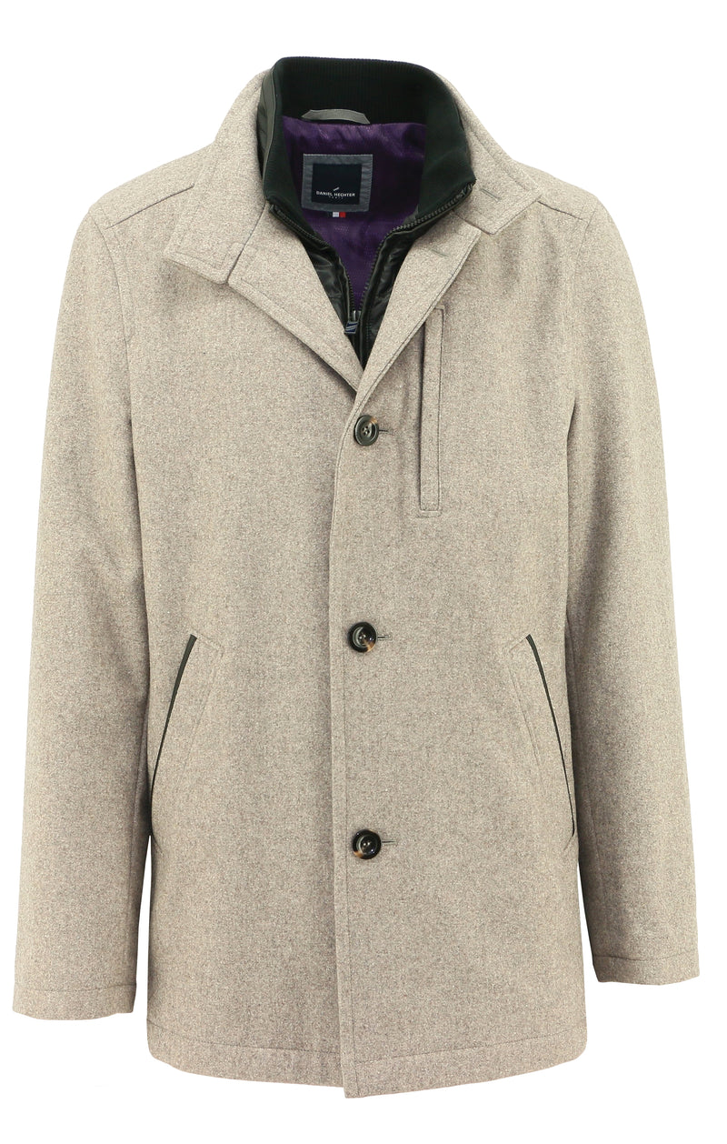 Ron Sand Double Layer Jacket