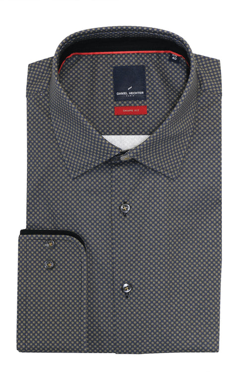 Daniel Hechter Shape Double Dot Shirt