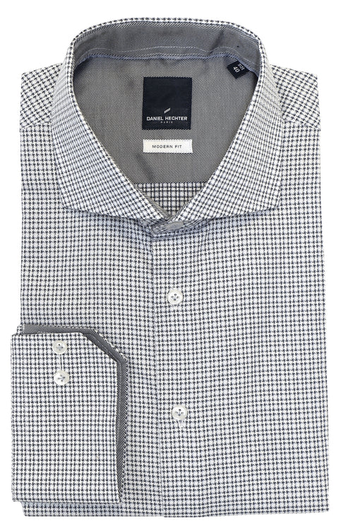 Daniel Hechter Shape Shark Grey Shirt