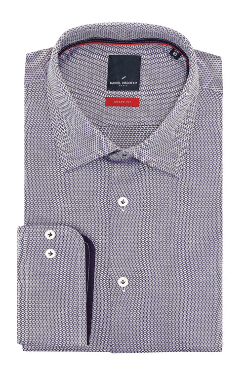 Shape Diamond Purple Shirt