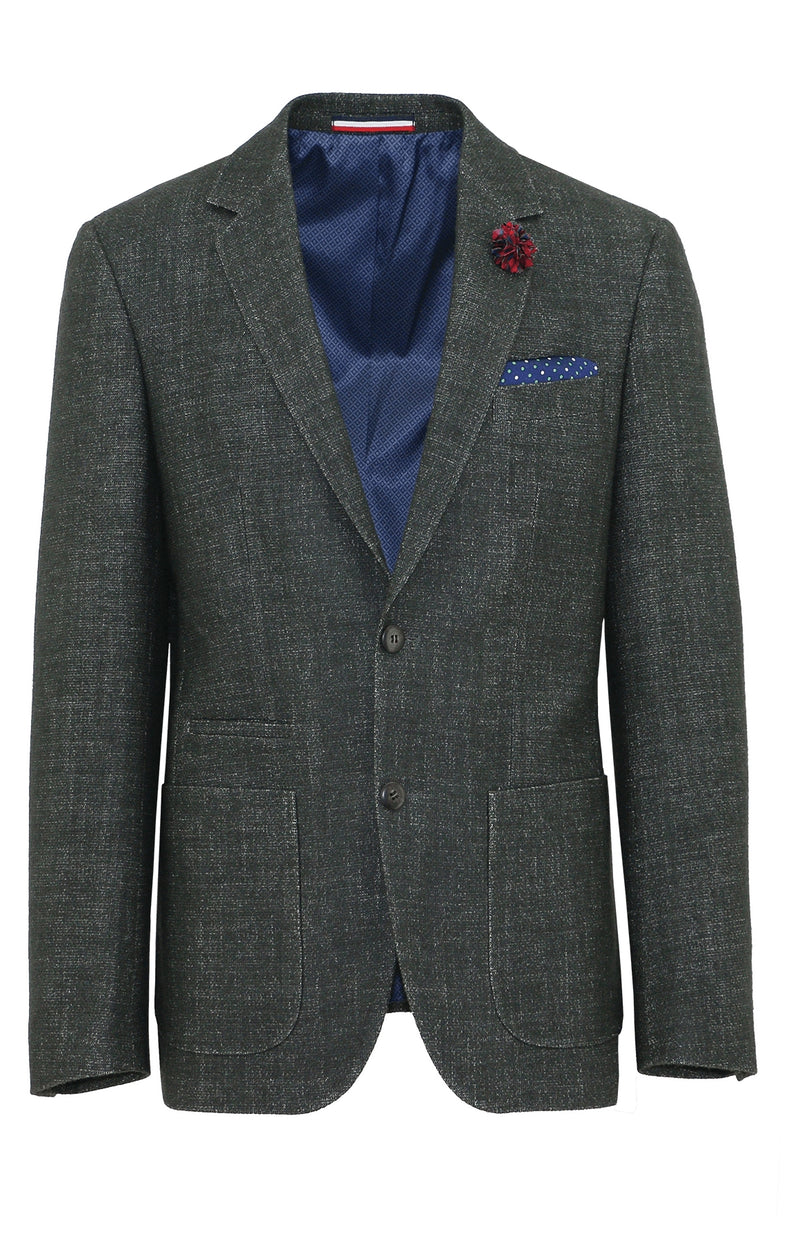 Prague Green Sports Jacket