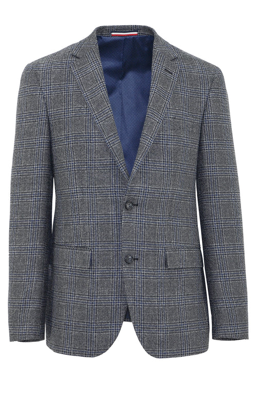 Shadow Grey Check Sports Jacket