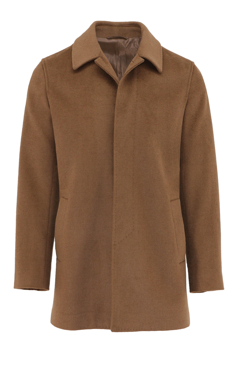 Daniel Hechter Carvell Tan Cloak Overcoat