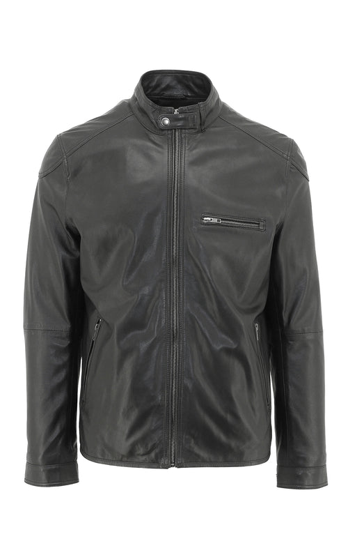 Cyclone Leather Jacket