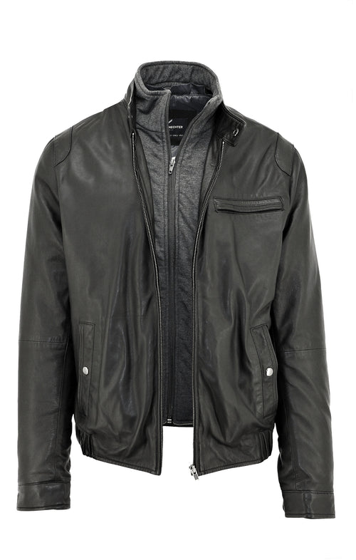 Penn Leather Jacket