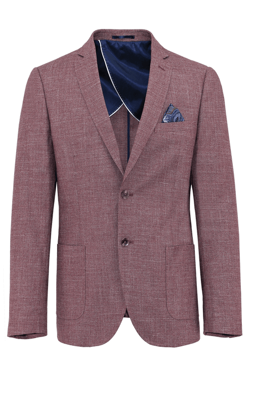 Jude Red Patch Sports Jacket