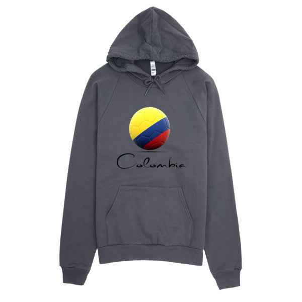 """Futbol Colombiano"" Hoodie - 507 Clothing Co"