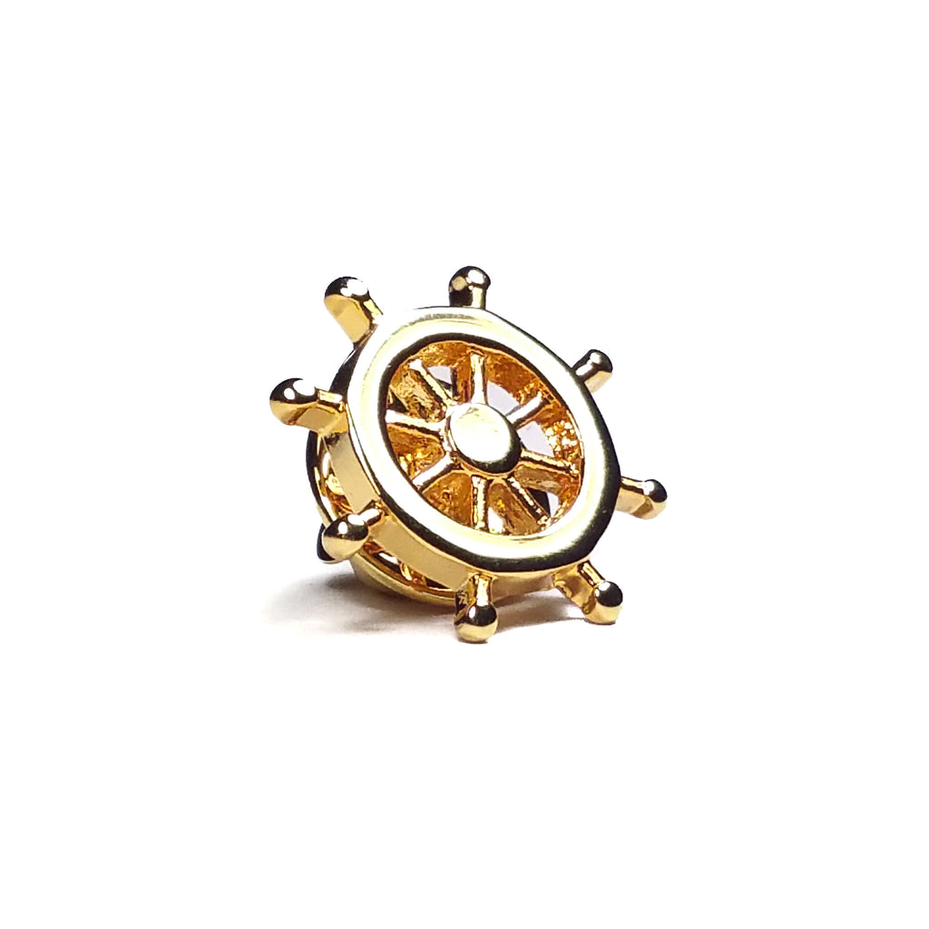 Ship Wheel Lapel
