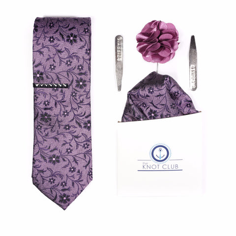Purple Floral Bundle