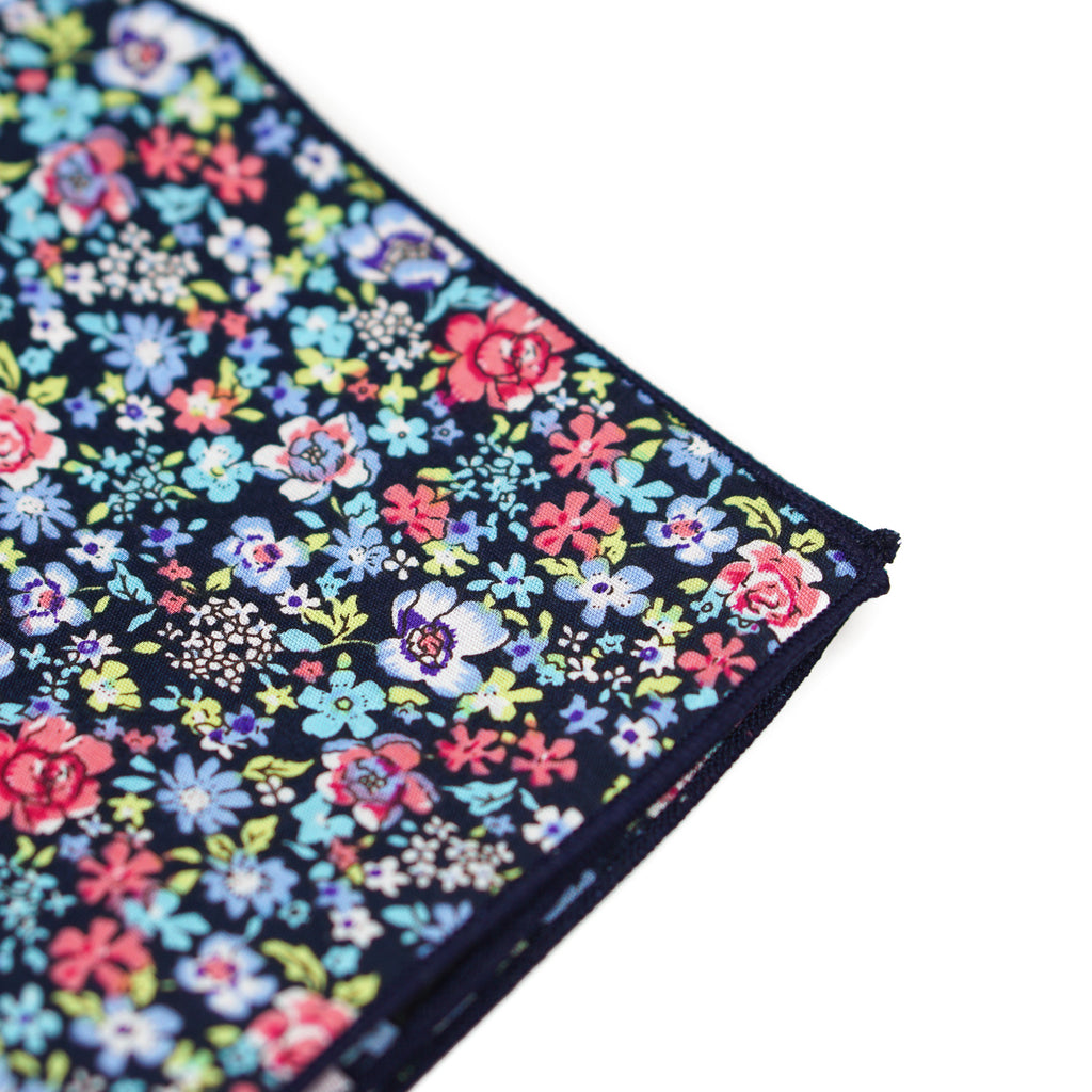 Garden Floral Pocket Square