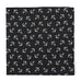 Anchor Pocket Square - Black