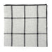 Plaid Pocket Square - Grey