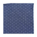 Dotted Pocket Square - Dark Blue