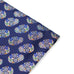 Navy - Spanish Skull Pocket Square