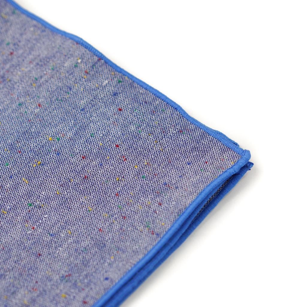 Speck Pocket Square - Brisk Blue