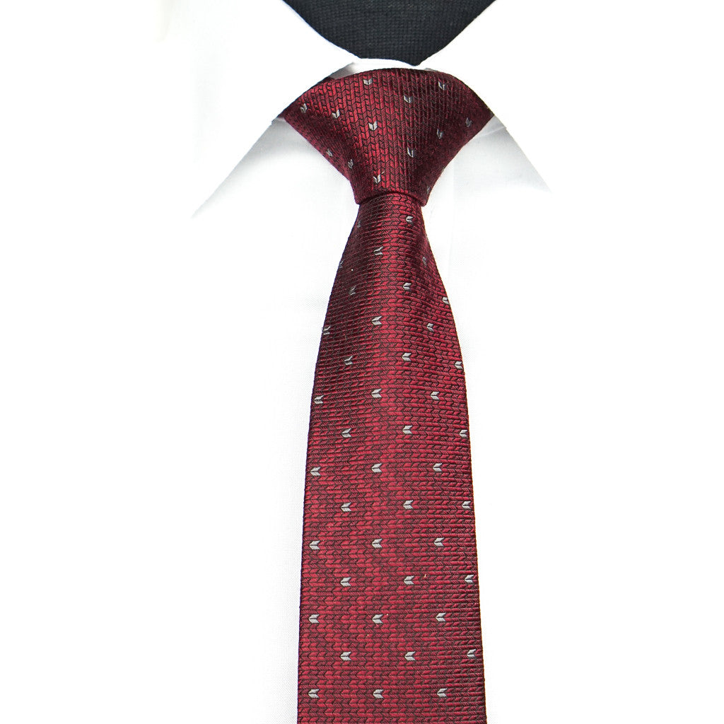 Red Wave Tie