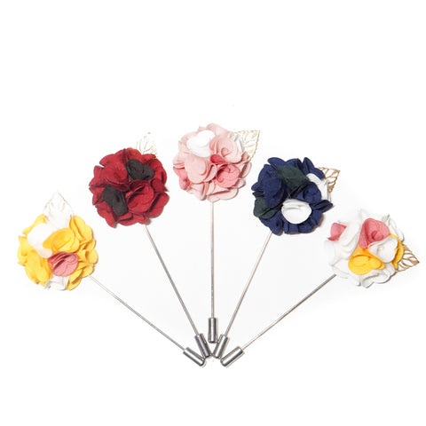 Carnation Mini Lapel Flower