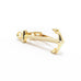 Anchor Tie Clip Gold