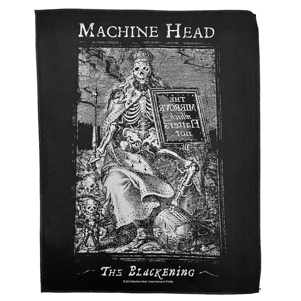 The Blackening Battle Vest Patch US