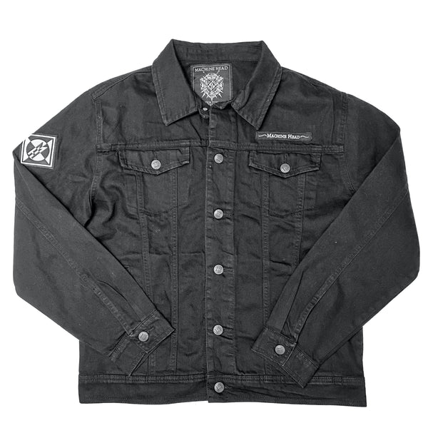 Lion Crest Denim Jacket US