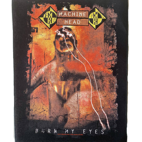 Burn My Eyes Battle Vest Back Patch US