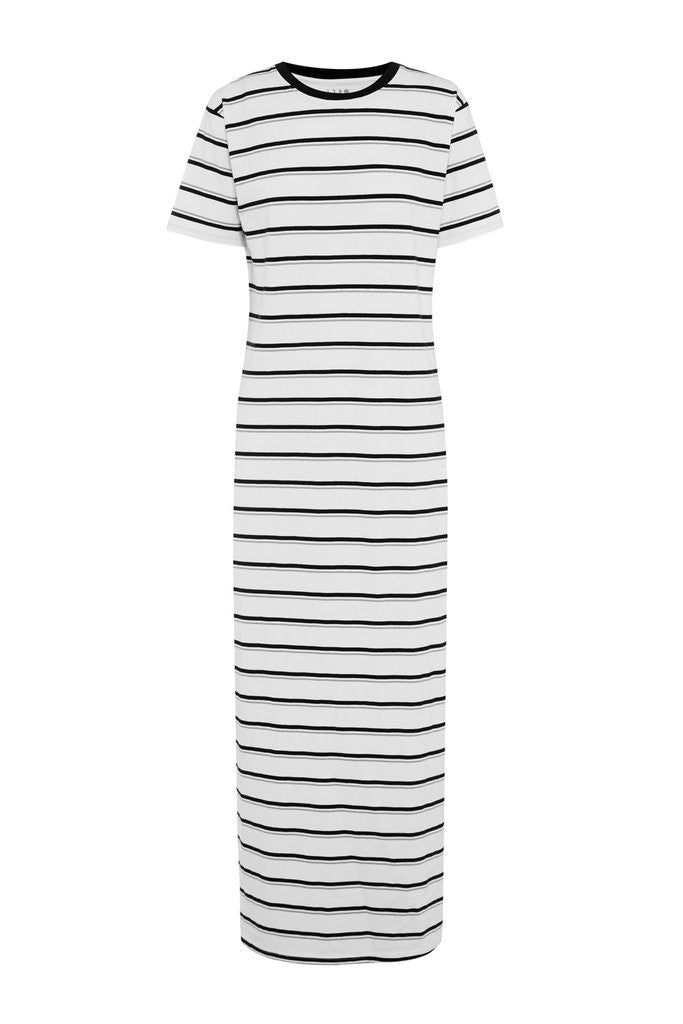 Stripe Jersey Maxi Dress - Lazy Days Loungewear - 4