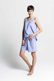 Chambray Top and Short Set - Lazy Days Loungewear - 1