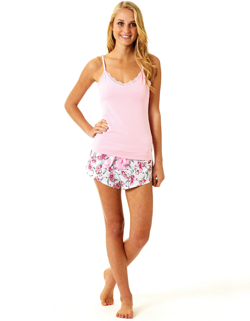 Orchid Shorts - Lazy Days Loungewear - 2